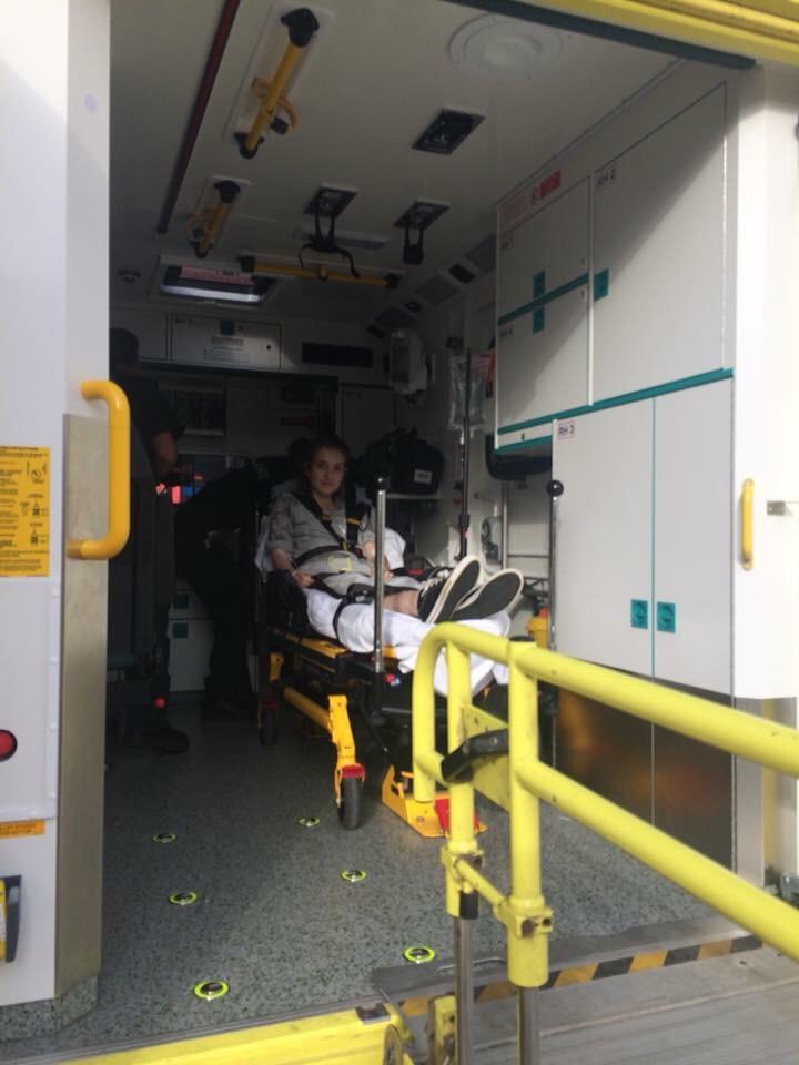 Ambulance ready